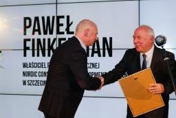 Paweł Finkielman (NCDC) i prof. Stefan Domek (ZUT)  /fot.: ABES /