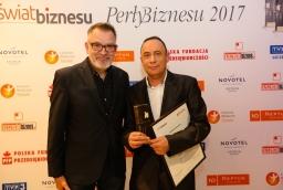 Jacek Jekiel (Opera na Zamku) i Lesław Siemaszko (firma deweloperska Siemaszko)  /fot.: ABES /