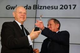 Kazimierz Mojsiuk (Grupa Mojsiuk) i Włodzimierz Abkowicz (redaktor naczelny Świata Biznesu)  /fot.: ABES /