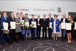 Laureaci i wyróżnieni w Perłach Biznesu 2016 i konkursie Inspirujący Start  /fot.: SG /