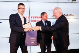 Adam Łyczakowski (Freedomes), Włodzimierz Abkowicz, prof. Stefan Domek  /fot.: Świat Biznesu /