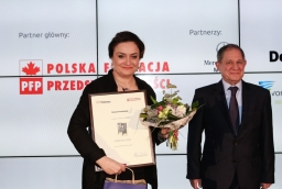 Monika Kowalska (Vienna House Amber Baltic), Włodzimierz Abkowicz  /fot.: Świat Biznesu /