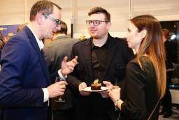 Od lewej: Tomasz Walburg (Zapol), Paweł Lepert (Paul Vadim Eyewear)  /fot.: Świat Biznesu /