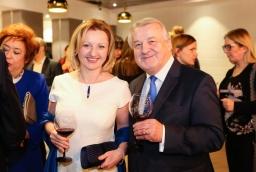 Magdalena Kotnis (ZARR), prof. Stanisław Flejterski  /fot.: Świat Biznesu /