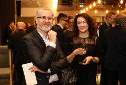 Andrzej Kulpa i Natalia Prekwa (Interglobus)  /fot.: Świat Biznesu /
