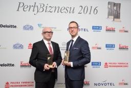 Artur Zawartko (Gaz System), Jakub Borowczyk (brightONE)  /fot.: SG /