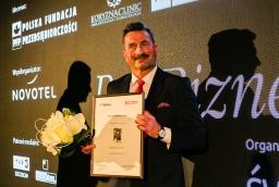 Gala wręczenia nagród Perły Biznesu 2018. Na zdjęciu Piotr Tomaszewicz, właściciel Tomaszewicz Development  /fot.: SW /