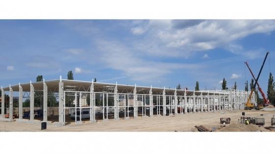 Budowa hali Hillwood  dla DPD Polska w Szczecinie /fot.: mat. Hillwood /