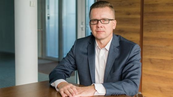 Krzysztof Koroch, prezes Megaron SA /fot.: Michał Abkowicz /