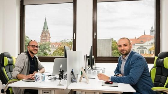 Od lewej: Michał Klemczak i Paweł Dziennik /fot.: mab /