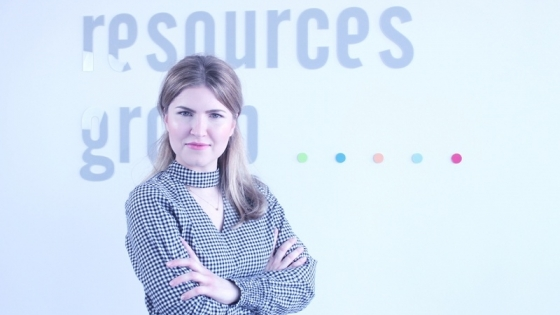 Mercedes Gorajska, project manager LSJ HR Group /fot.: mat. LSJ HR Group /