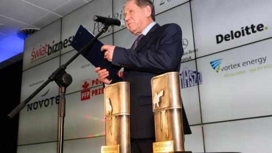 Gala wręczenia nagród Perły Biznesu 2016, Włodzimierz Abkowicz, redaktor naczelny Świata Biznesu /fot.: Świat Biznesu /