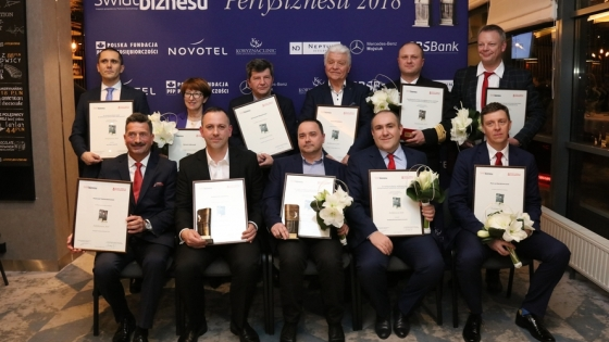 Laureaci Pereł Biznesu 2018 /fot.: SW /