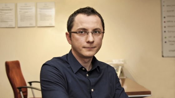 Radosław Miklaszewski, dyrektor oddziału Pilkington IGP w Szczecinie /fot.: ak /
