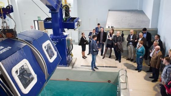 Spotkanie Polsko-Niemieckiego Kręgu gospodarczego w Vulcan Training Center /fot.: SG /
