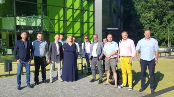 Członkowie zarządu i komisji rewizyjnej Klastra IT /fot.: Klaster IT /