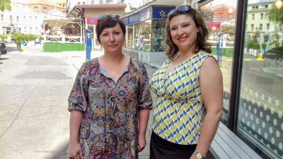 Magdalena Orłowska i Małgorzata Gajewska, właścicielki MELO S.C. /fot.: ata /